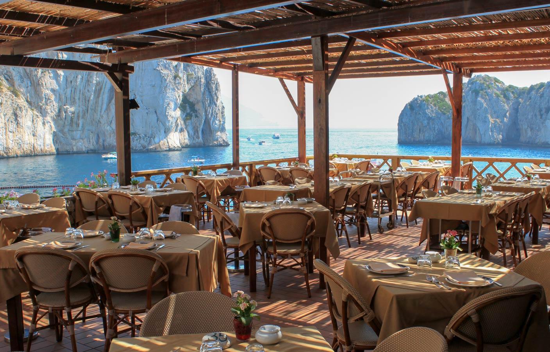Of Capri S Faraglioni Restaurant